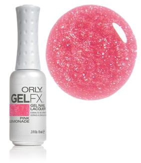 ORLY GELFX Pink Lemonade UV Gel Nail Lacquer 30167 | www.Gel-Nails.com