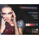 Poster Two Side CND Shellac Contradictions Collection