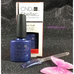 CND Shellac Starry Sapphire 91261 Gel Color Coat