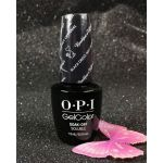 Gel Color by OPI Black Dress Not Optional HP H03 HOLIDAY 2016 Breakfast at Tiffany's Collection