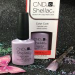 CND Shellac Alpine Plum 91687 Gel Color Glacial Illusion Collection