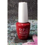 OPI An Affair in Red Square GelColor NEW Look GCR53