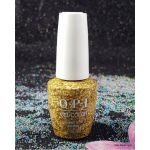 OPI Gold Key to the Kingdom HPK13 Gel Color NUTCRACKER Collection