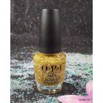 OPI Gold Key To The Kingdom HRK13 Nail Lacquer NUTCRACKER Collection