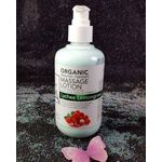 La Palm Spa Products - Organic Healing Massage Lotion -  Lychee Lemongrass