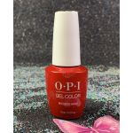 OPI GelColor Red Heads Ahead GCU13 Scotland Collection Fall 2019