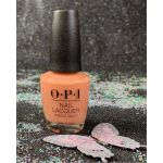 OPI Coral-ing Your Spirit Animal NLM88 Nail Lacquer Mexico City Spring 2020