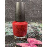 OPI Nail Lacquer Chick Flick Cherry NLH02
