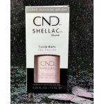 CND Shellac Pointe Blanc UV Color Coat