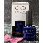 CND Shellac Sassy Sapphire Gel Gel Polish 7.3 ml - 0.25 fl oz - Crystal Alchemy Collection