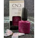 CND Shellac Secret Diary Gel Polish 7.3 ml - 0.25 fl oz - Fall 2019 Treasured Moments Collection