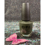 OPI Things I've Seen In Aber-Green NLU15 Nail Lacquer Scotland Collection Fall 2019