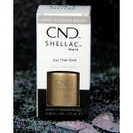 CND Shellac Get That Gold UV Color Coat - Gel Nail Polish