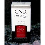 CND Shellac How Merlot UV Color Coat - Gel Nail Polish