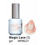 LeChat Magic Lace Shimmer Perfect Match Mood Color Changing Gel Polish  .5oZ/15mL MPMG27