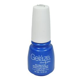 Gelaze China Glaze Gel Nail Color Polish 0.5 oz  Splish Splash