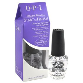 Opi Start To Finish Base Coat Top Coat Nail Strengthener .5oz 15ml