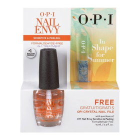 OPI Nail Envy Sensitive & Peeling .5oz With Crystal Nail File