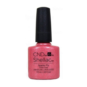 CND Shellac UV Color Coat - Gel Nail Polish  Sparks Fly 91177
