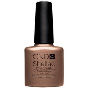 CND Shellac UV Color Coat - Gel Nail Polish - Sugared Spice Color