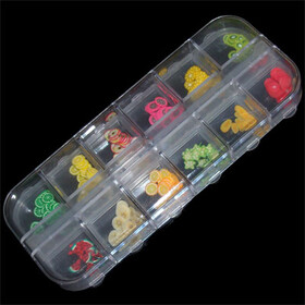 Fimo Fruit Sampler - 12 kinds (Large)