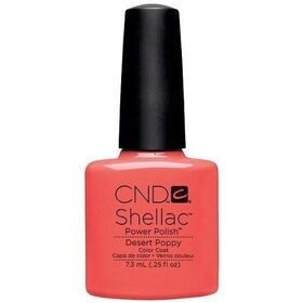 CND Shellac Desert Poppy UV Color Coat - Gel Nail Polish