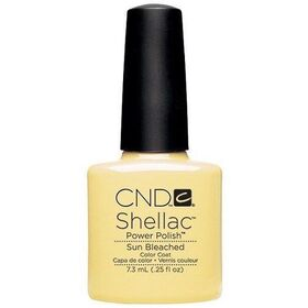 CND Shellac Sun Bleached UV Color Coat - Gel Nail Polish