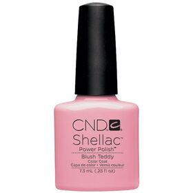CND Shellac UV Color Coat - Gel Nail Polish - Blush Teddy