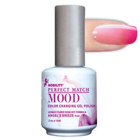 LeChat Angel's Breeze Frost Perfect Match Mood Color Changing Gel Polish  .5oZ/15mL