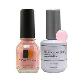 LeChat Perfect Match Gel Polish & Nail Lacquer Paloma 2-.5oZ/15mL
