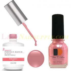 LeChat Perfect Match Gel Polish & Nail Lacquer Pink Daisy 2-.5oZ/15mL